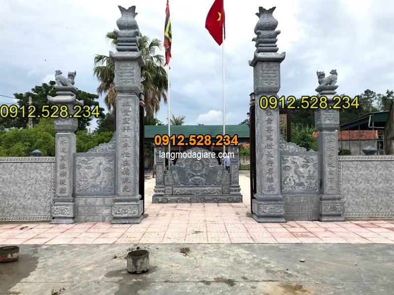 Tốp 15 hình ảnh cổng đá từ đường nhà thờ họ đẹp 03