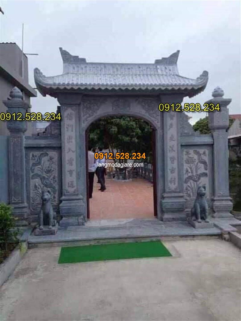 Tốp 15 hình ảnh cổng đá từ đường nhà thờ họ đẹp 04