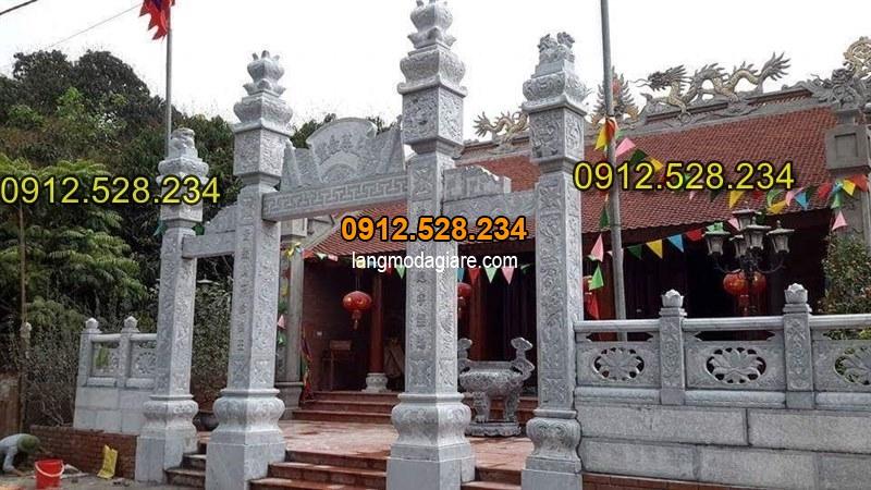 Tốp 15 hình ảnh cổng đá từ đường nhà thờ họ đẹp 05