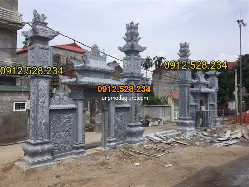 Tốp 15 hình ảnh cổng đá từ đường nhà thờ họ đẹp 06