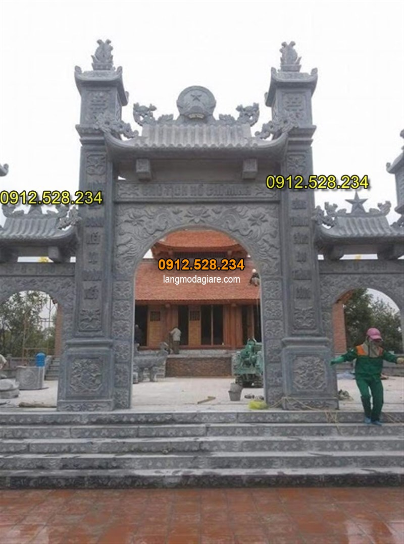 Tốp 15 hình ảnh cổng đá từ đường nhà thờ họ đẹp 08