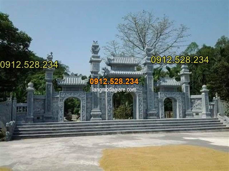 Tốp 15 hình ảnh cổng đá từ đường nhà thờ họ đẹp 09