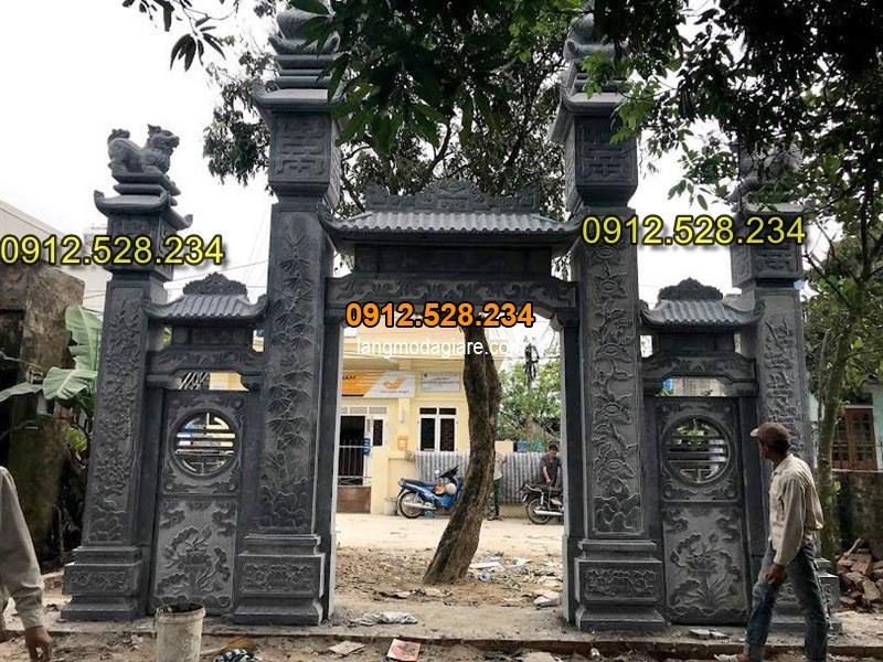 Tốp 15 hình ảnh cổng đá từ đường nhà thờ họ đẹp