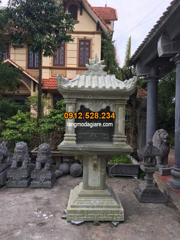 Bàn thờ thiên được làm từ đá cao cấp tại Ninh Vân