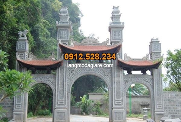 Mẫu cổng làng đẹp nhất Việt Nam