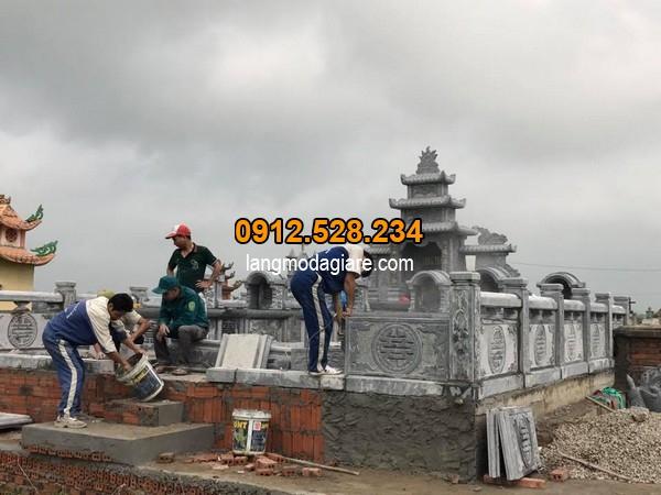 Xây dựng mộ chuẩn theo thước lỗ ban phong thủy