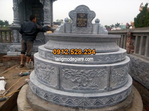 Lăng mộ đá tròn được ưa chuộng nhất hiện nay