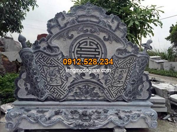 Cuốn thư đá đẹp chạm khắc chữ thọ