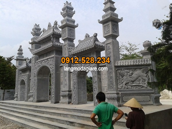 Mẫu cổng tam quan đang được ưa chuộng hiện nay