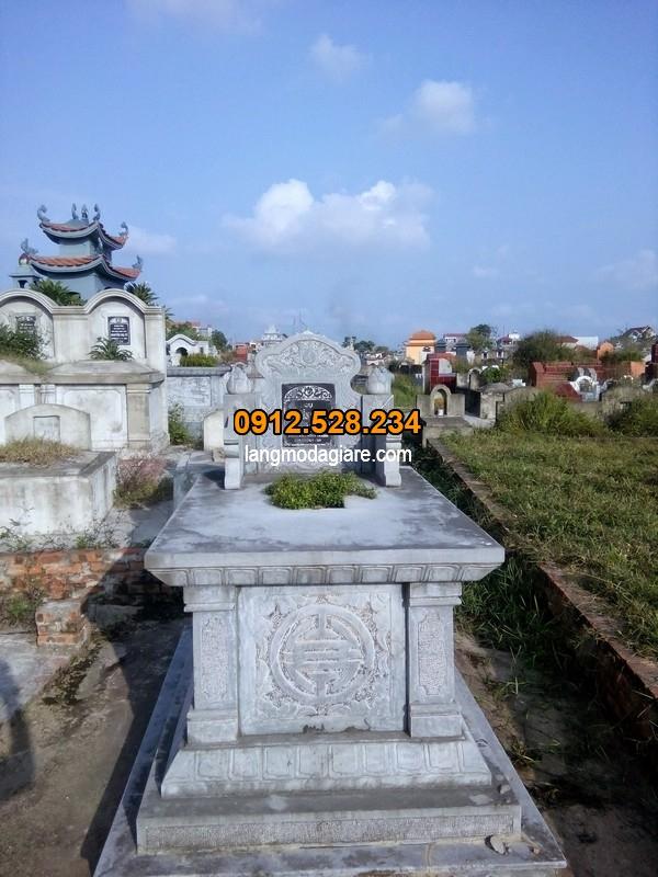 Mẫu mộ đẹp đơn giản ở Việt Nam