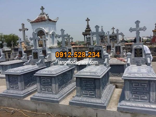 Khu lăng mộ đá công giáo đẹp