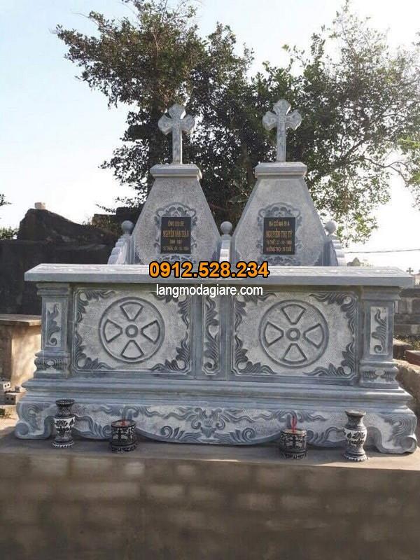 Mẫu mộ đá công giáo đẹp đang được ưa chuộng