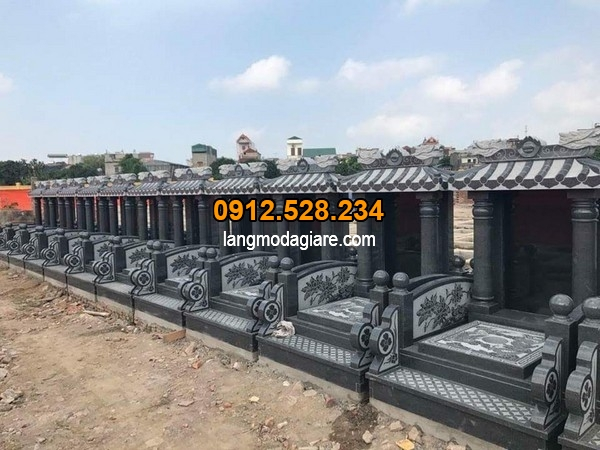 Mẫu mộ đá đẹp chỉ có tại Ninh Vân