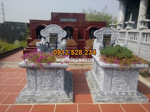 Mẫu mộ đá tại Đồng Tháp