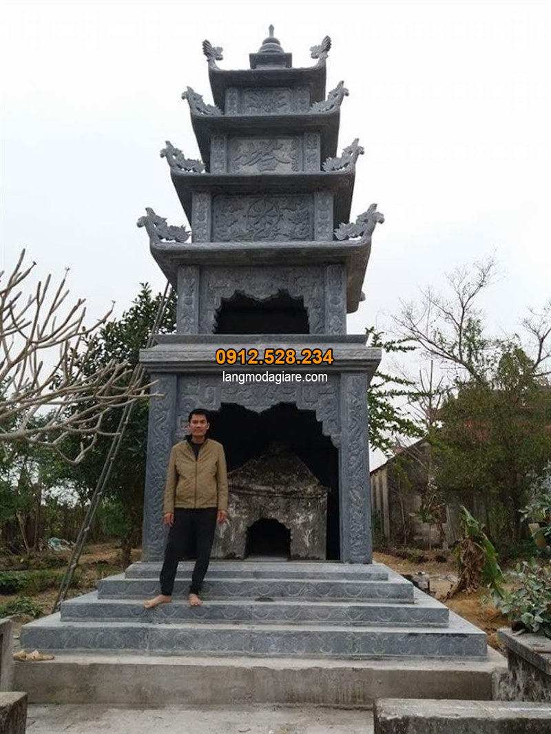 Mẫu mộ tháp phật giáo đơn giản nhất 2019