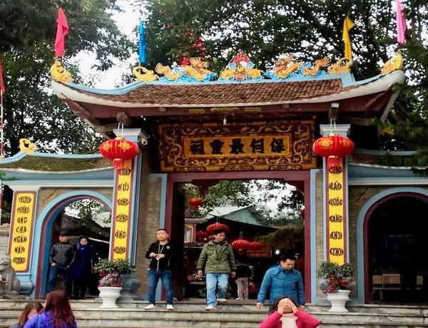 Địa điểm thờ ông Hoàng Bảy