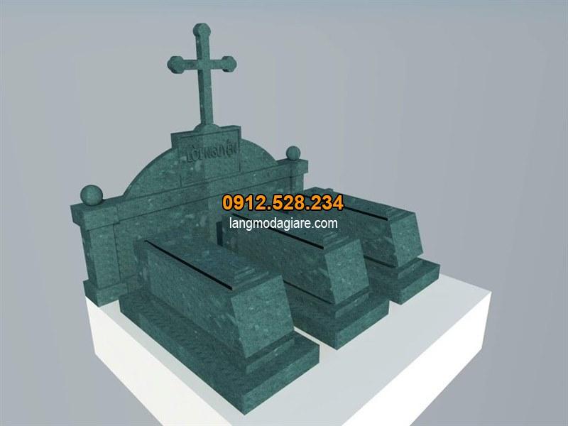Bản vẽ mộ đá công giáo đẹp nhất hiện nay
