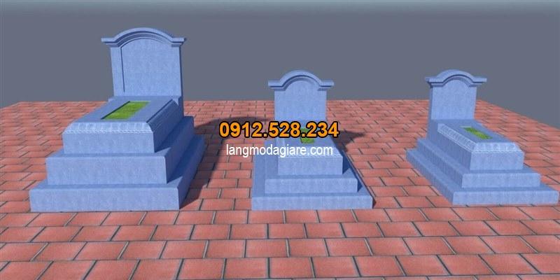 Bản vẽ thiết kế mộ đơn giản