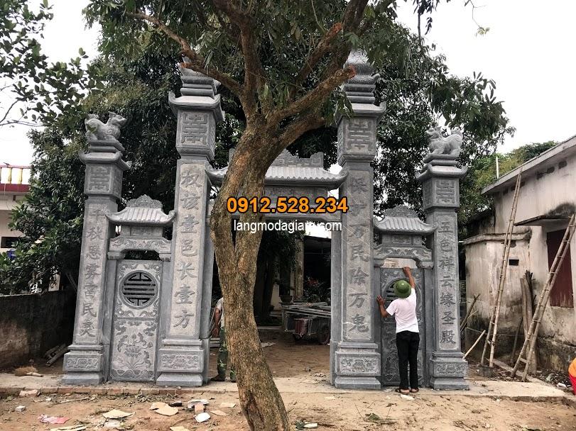 Câu đối cổng nhà thơ họ đẹp nhất Việt Nam , Các mẫu câu đối cổng nhà thờ họ, đình chùa đẹp nhất hiện nay