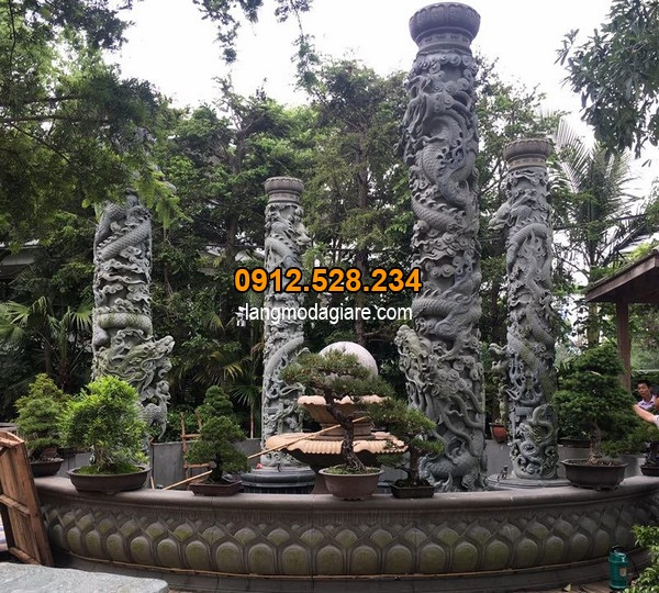 Ý nghĩa của hoa văn rồng trên cột đá