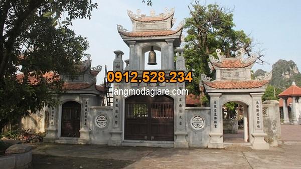 Mẫu cổng tam quan đã có từ lâu đời