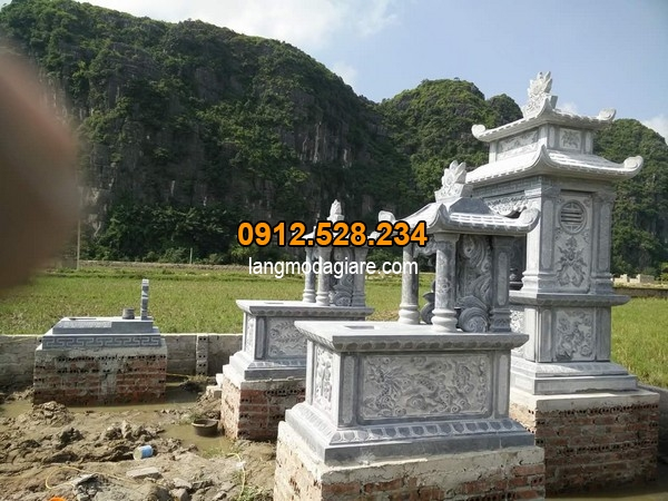 Chia sẻ kích thước mộ đá chuẩn thước lỗ ban
