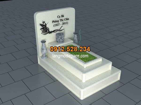 Một số kiểu mộ đơn giản đẹp đang được thịnh hành 4