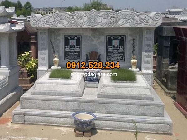 Kích thước chuẩn phong thủy của các kiểu mộ đơn giản