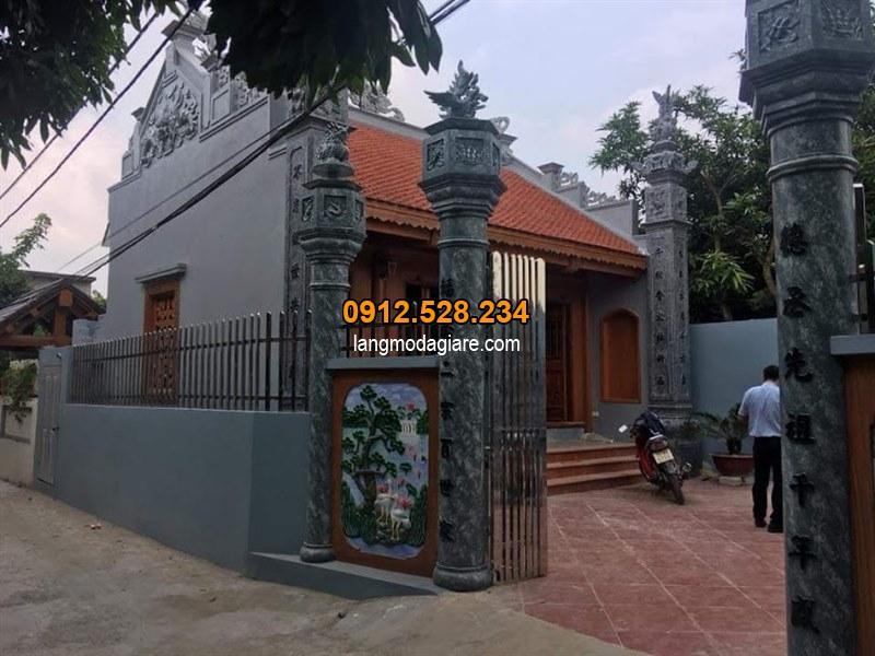 Mẫu câu đối cổng nhà thờ họ, Câu đối cổng nhà thờ họ đẹp 01