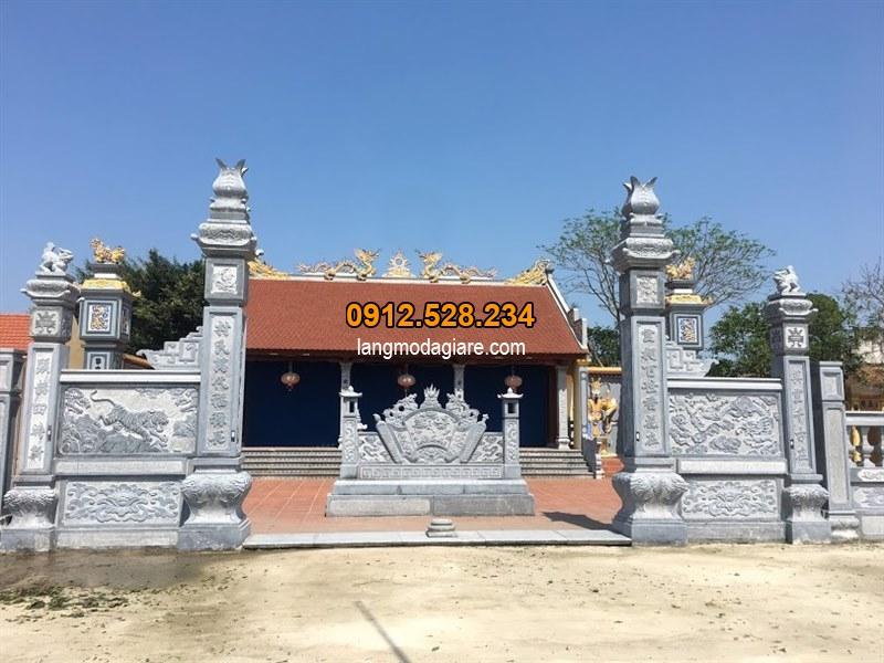 Các mẫu câu đối cổng nhà thờ họ, đình chùa đẹp nhất hiện nay