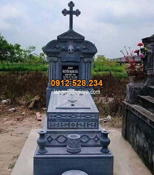 mẫu mộ đá công giáo đẹp nhất 2019