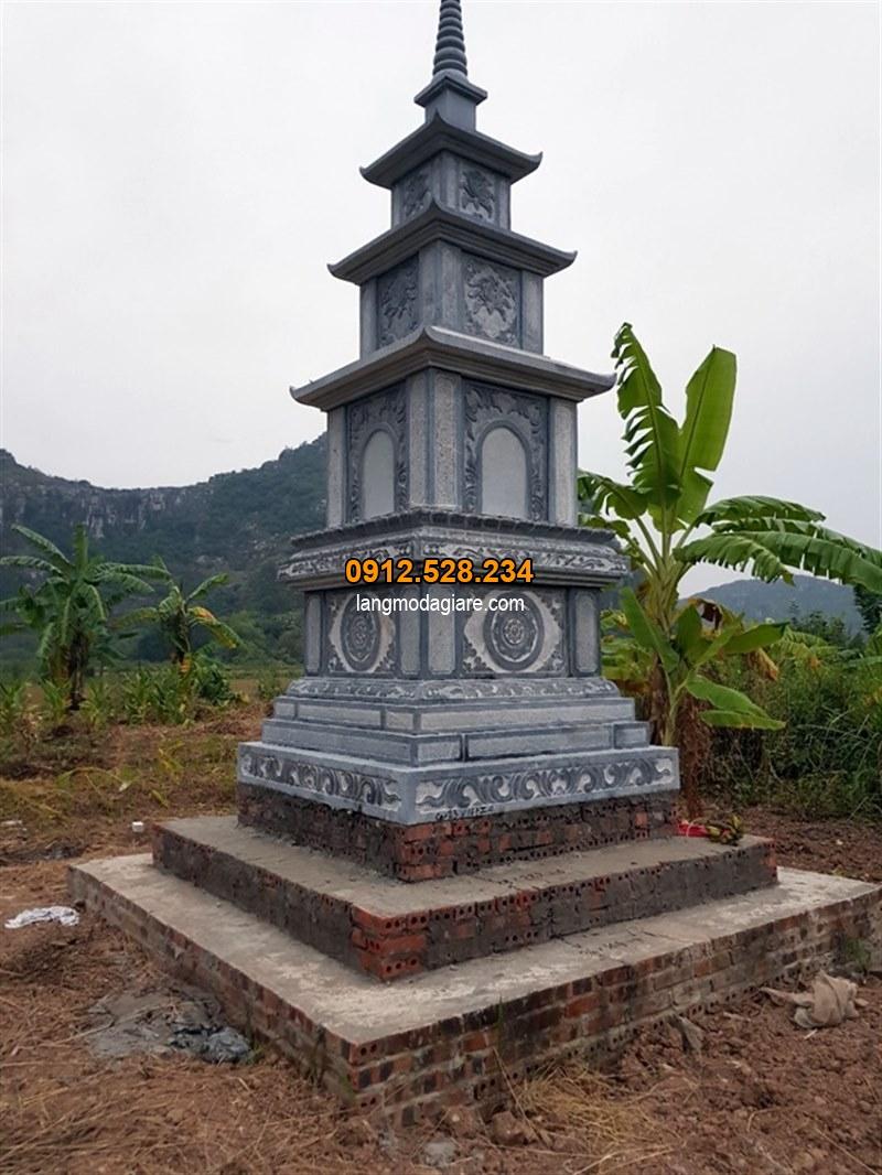 Mẫu mộ tháp đá phật giáo đẹp nhất hiện nay