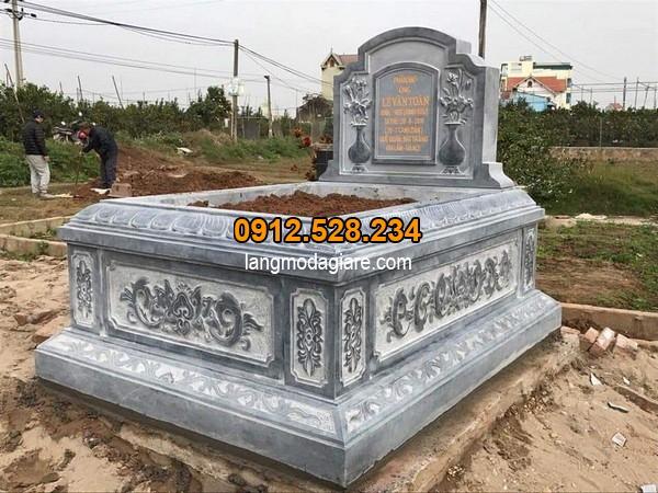 Mẫu mộ đá bành đẹp nhất hiện nay