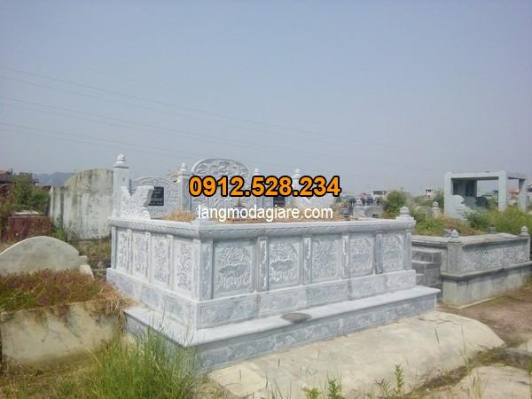 Mẫu mộ bành đá đang được ưa chuộng nhất