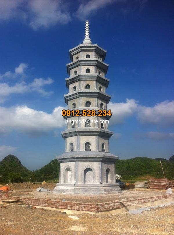 Mẫu mộ tháp đá đẹp nhất hiện nay