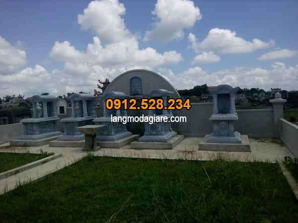 Khu lăng mộ đá xanh đẹp tại Thanh Hóa