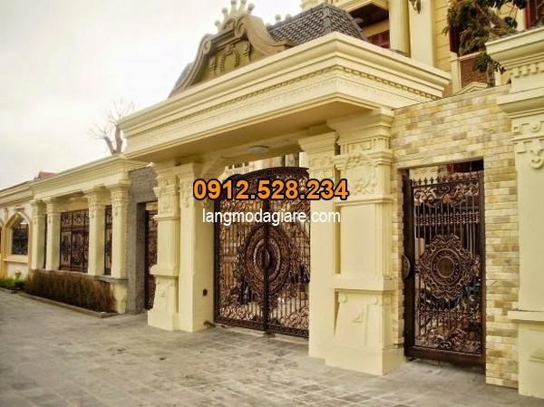Cách thiết kế cổng nhà với kích thước chuẩn phong thủy