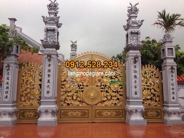 Xem kích thước cổng nhà theo mệnh