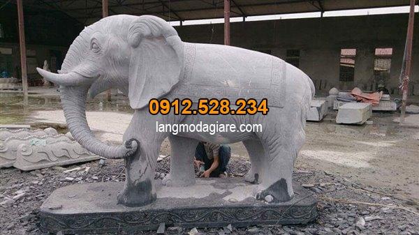 Cách đặt tượng voi đá trong phong thủy