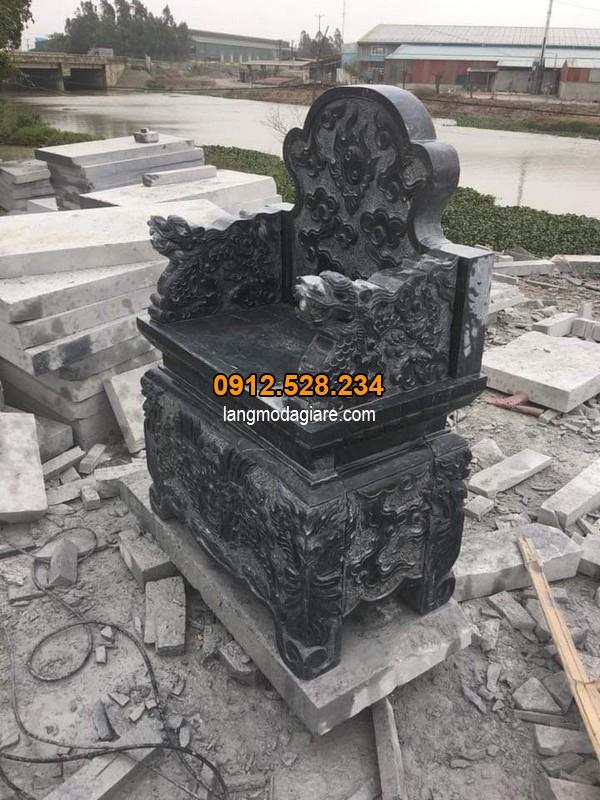 Giá thành mới nhất của lăng mộ đá xanh đen