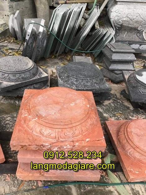 Đá kê cột nhà gỗ đẹp giá rẻ chất lượng tốt, Các mẫu đá kê chân cột nhà đẹp nhất hiện nay