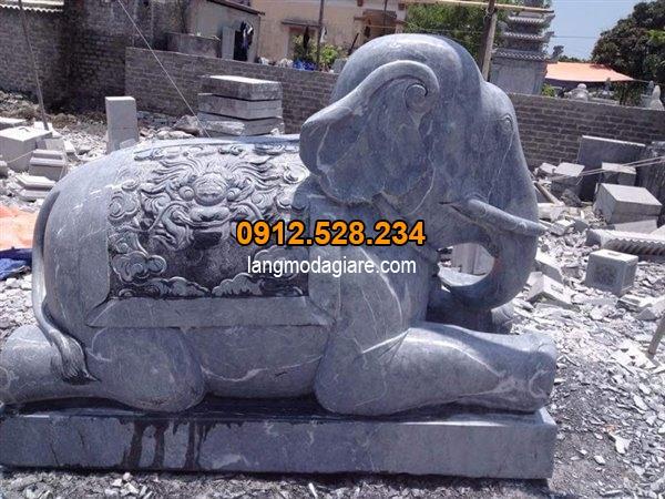 Tìm hiểu ý nghĩa tượng voi đá trong phong thủy và cách đặt tượng voi 01