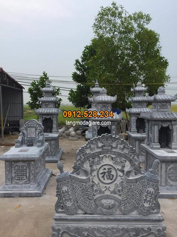 Nhận thiết kế lăng mộ đá xanh