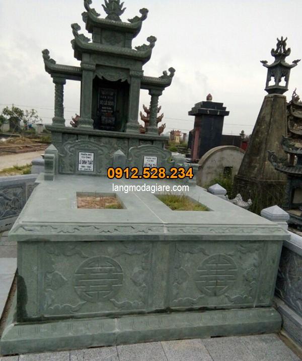 Lăng mộ đá xanh rêu khác gì với mộ thông thường?