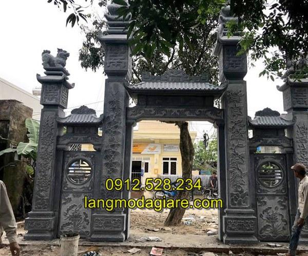 Mẫu cổng đá nhà thờ họ đẹp nhất chất lượng nhất, Mẫu cổng đá nhà thờ họ đẹp chất lượng cao