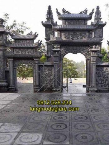 Mẫu cổng tam quan đá đẹp giá rẻ chất lượng cao
