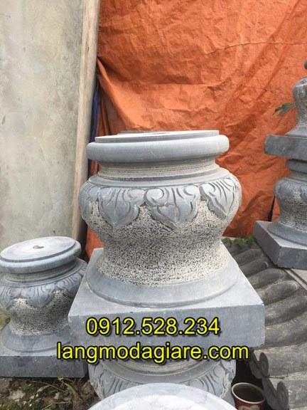 Mẫu đá kê chân cột nhà đẹp đơn giản chất lượng cao