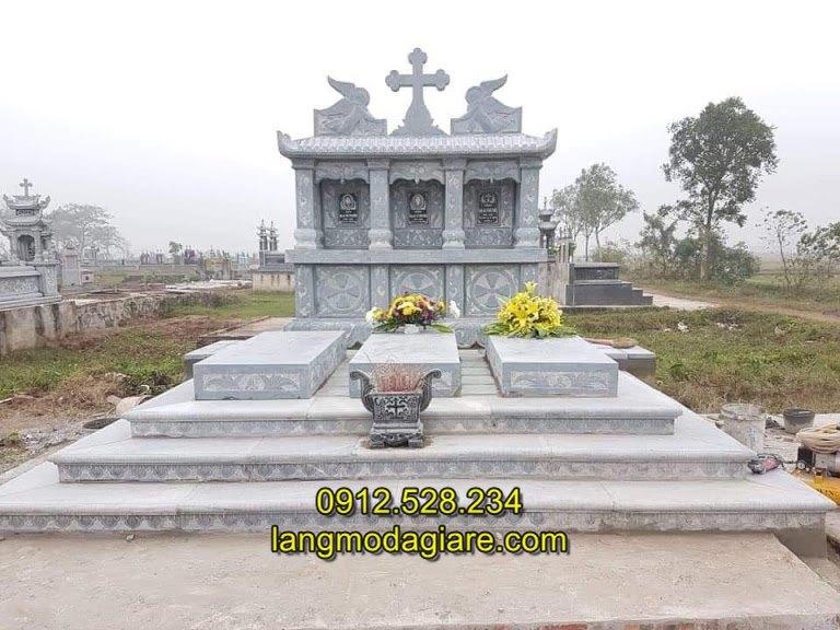 Mẫu mộ cho người theo đạo đẹp nhất hiện nay