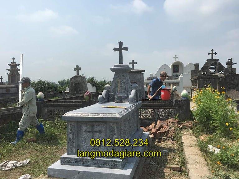 Mẫu mộ đá công giáo đẹp, Mộ đá công giáo- Mẫu mộ của người theo đạo thiên chúa giáo