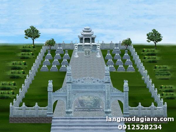 Cách thiết kế nghĩa trang gia đình đẹp, hoành tráng nhất